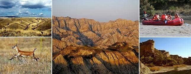 Vashlovani Protected Areas Tourist Trails