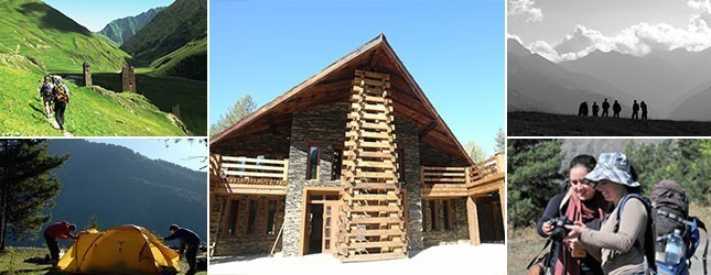 Tusheti Protected Areas Tourist Trails